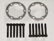 Tarett Axle Spacer Kit, Rear, 15mm, 986 &987