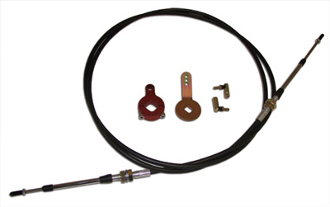 Tarett Bladed Sway Controller Cable Kit 997 Rear