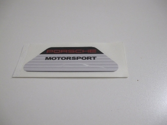 Motorsports decal for air cleaner 997.2