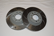 Porsche 996 GT3 Cup Front Brake Rotors Slotted